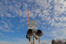 Railroad Crossing Stock Photos