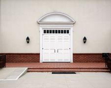 Free Outdoor Church Doors Stock Images - 748334