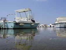 Free Small Boats Royalty Free Stock Photos - 748998