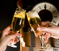 Free Champagne Toast Royalty Free Stock Photography - 7409487