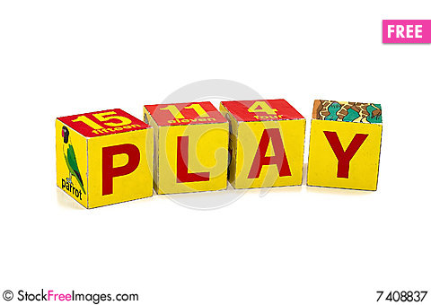 Free Play Royalty Free Stock Photography - 7408837