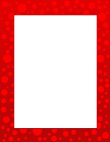 Free Dots Border / Frame Royalty Free Stock Photo - 7403425