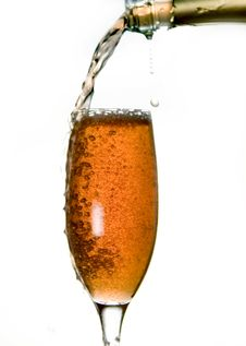 Free Pouring Champagne Royalty Free Stock Images - 7426349