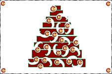 Free Christmas Trees Royalty Free Stock Images - 7445559