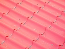 Free False Roof Of Red Tiles Stock Image - 74462561