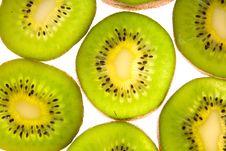 Green Kiwi Stock Photography