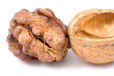 Free Walnuts Royalty Free Stock Image - 7460646
