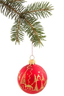 Free Christmas Ball Royalty Free Stock Images - 7460729