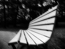 Free Lonely Bench Royalty Free Stock Photos - 7488728