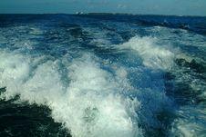 Free Boat Wake Stock Image - 750891