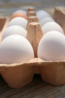 Free Palette Of Eggs Royalty Free Stock Image - 750896