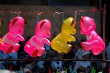 Free Toy Balloons Stock Image - 751961