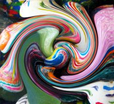 Free Swirled Paints Stock Photo - 752750