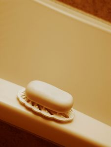 Free Soap On The Edge Royalty Free Stock Photo - 754255