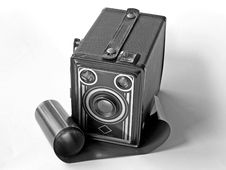 Free Box Camera Royalty Free Stock Photo - 755415