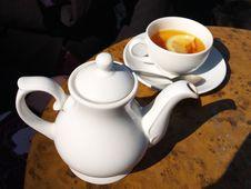 Free Lemon Tea Royalty Free Stock Images - 755459