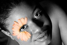 Free Flower Girl Stock Photos - 756183