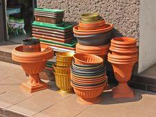 Free Flowerpots.jpg Stock Photography - 757252