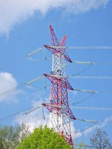 Free Energetic Tower1.jpg Royalty Free Stock Photos - 757258