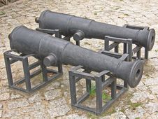 Free Cannons Stock Photo - 757280