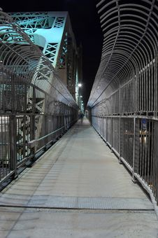 Anti-suicide Fence 2. Stock Image