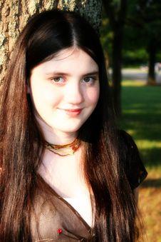 Free Tween Girl Royalty Free Stock Image - 757796