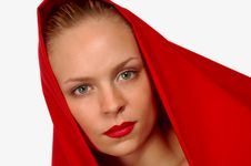 Free Woman In Red Stock Photo - 758310