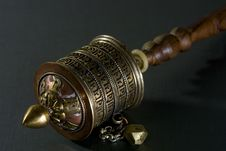 Free Manual Prayer Wheel Stock Photo - 758890