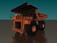 Free DUMPER TRUCK Royalty Free Stock Photos - 759008
