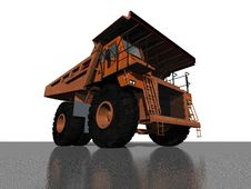 DUMPER TRUCK Royalty Free Stock Images