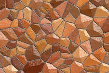 Free Red Stone Wall Stock Image - 759371