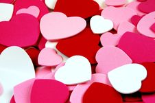 Valentine Heart Shapes Royalty Free Stock Photography