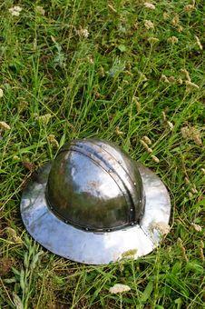 Free Helmet Of Teutonic Infantry Royalty Free Stock Image - 7529986