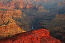 Free Hopi Point, Grand Canyon Royalty Free Stock Photography - 7562927