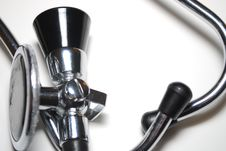 Free Old Fashion Stethoscope Royalty Free Stock Images - 7598139