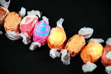 Free Wrapped Taffy Stock Photography - 7598872