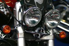 Free Bike Lights Royalty Free Stock Photography - 760647