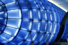 Free Blue Modern Structure Royalty Free Stock Photo - 760665