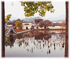 Free Hongcun Impression, Anhui, China Royalty Free Stock Image - 761146