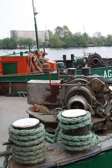 Free Barge Royalty Free Stock Photography - 761657