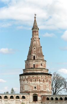 Free Tower Of Monastery Stock Photography - 762462