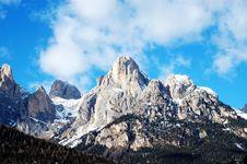 Free Dolomities - Italy Royalty Free Stock Image - 763076