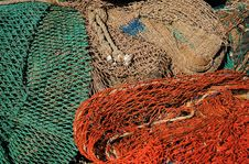 Free Fishing Net Royalty Free Stock Image - 763466