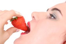 Free Strawberry Time Stock Image - 764351
