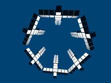 Hexagon Team Power Royalty Free Stock Photo