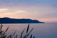 Free Sunrise Over The Mediterannean Stock Photography - 766212