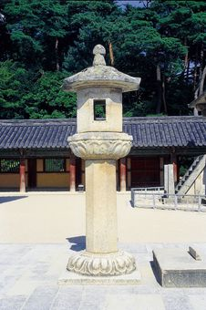 Free Korean Relic Royalty Free Stock Image - 766256