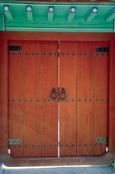 Free Korean Relic Royalty Free Stock Photo - 766265