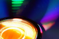 Free DVD Disk Blur Royalty Free Stock Images - 766629