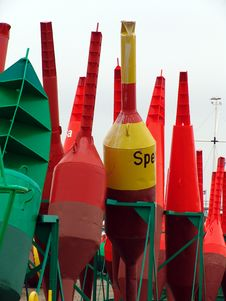 Free Buoys Royalty Free Stock Image - 767936